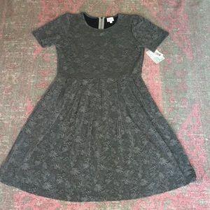NWT LulaRoe grey dress with zipper back size 2XL